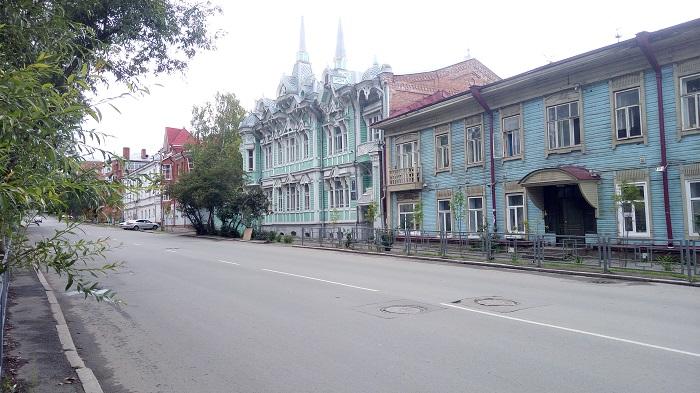 Памятник архитектуры в Томске