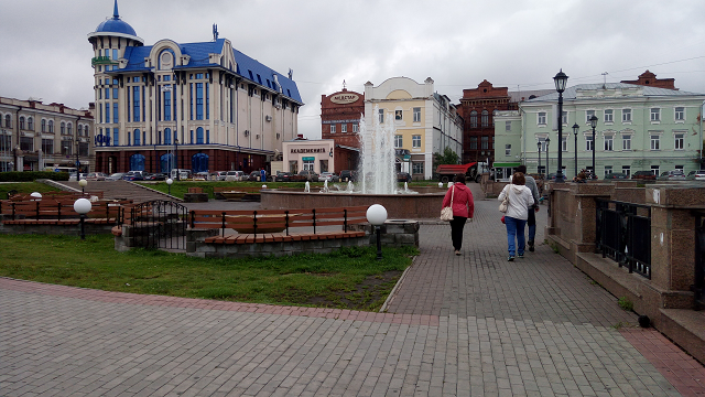 Выходные в Томске
