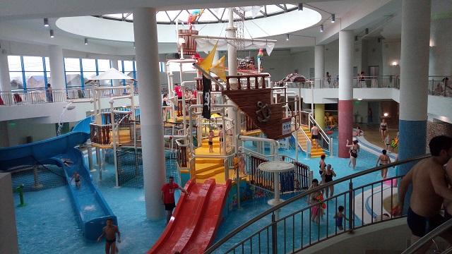 Зона для детей в аквапарке