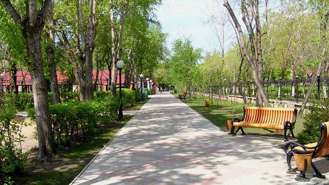 Центральный парк в Петропавловске