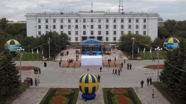 Улица Ленина в Петропавловске