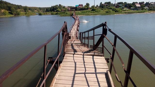 Мост в Бердске