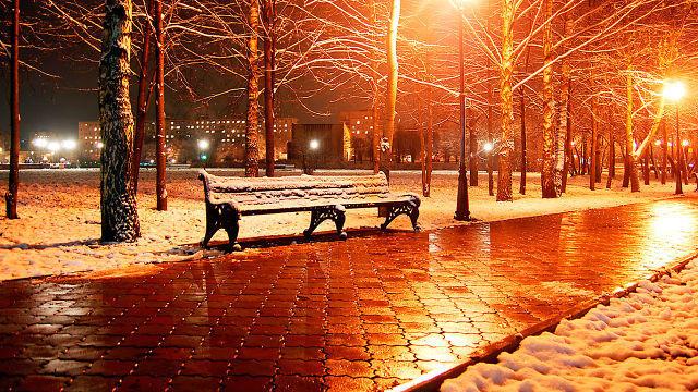 Неожиданно пришла зима