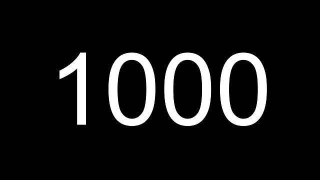 1000 статей в блоге Creautor.ru
